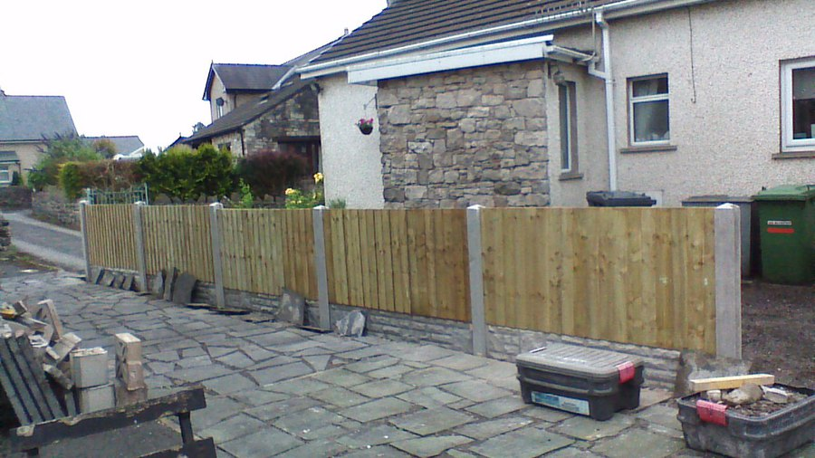 the andyman , Garden Fence , Kendal